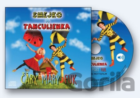 CD album SMEJKO A TANCULIENKA: CARY MARY FUK
