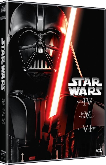 DVD Kolekce: Star Wars Trilogie 4-6 (3 DVD) - Richard Marquand, George Lucas