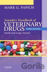 Kniha Saunders Handbook of Veterinary Drugs - Mark G. Papich