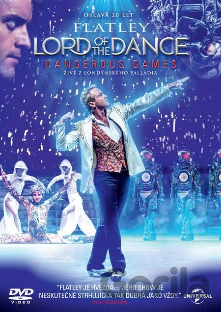 DVD Lord of the Dance: Dangerous Games - Paul Dugdale