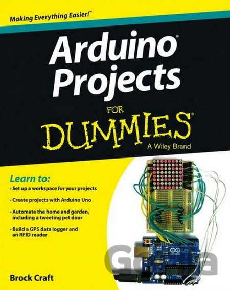 Kniha Arduino Projects For Dummies (Brock Craft) (Paperback) - Brock Craft