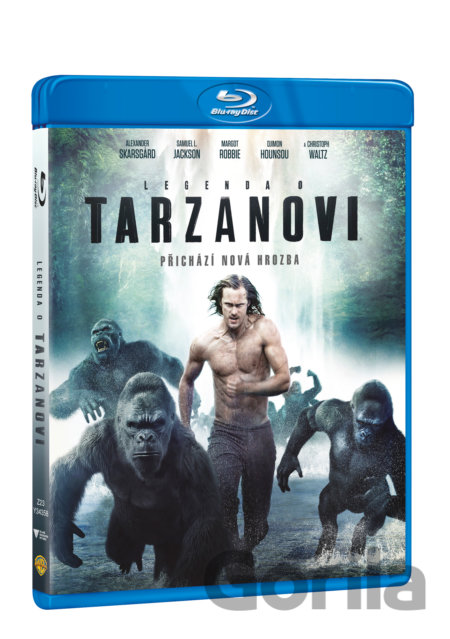 Blu-ray Legenda o Tarzanovi (2016 - Blu-ray) - David Yates