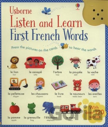 Kniha Listen and Learn First Words in French -