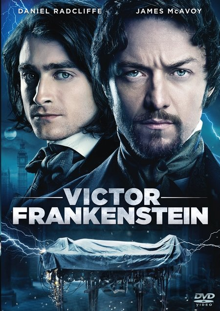DVD Viktor Frankenstein (2015) - Paul McGuigan