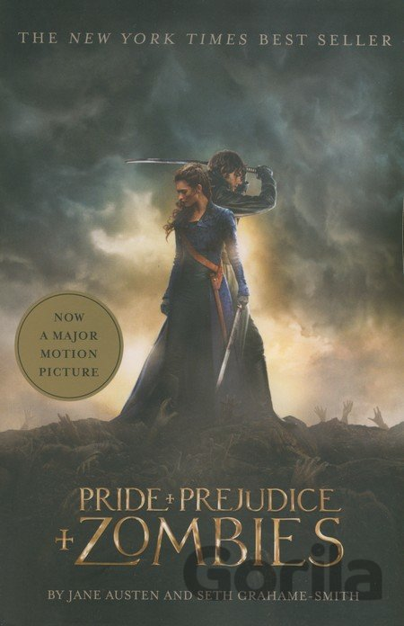 Kniha Pride and Prejudice and Zombies - Jane Auten, Seth Grahame-Smith