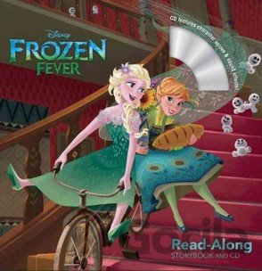 Kniha Frozen Fever Read-Along Storybook and CD (Pap... (Meredith Rusu, Disney Storyboo - Meredith Rusu