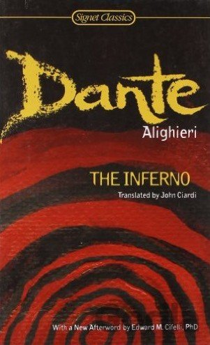 Kniha The Inferno - Dante Alighieri