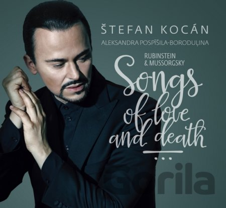 CD album KOCAN S. / POSPISILA-BORODULINA A.: SONGS OF LOVE AND DEATH: (CD v kniznej vazbe