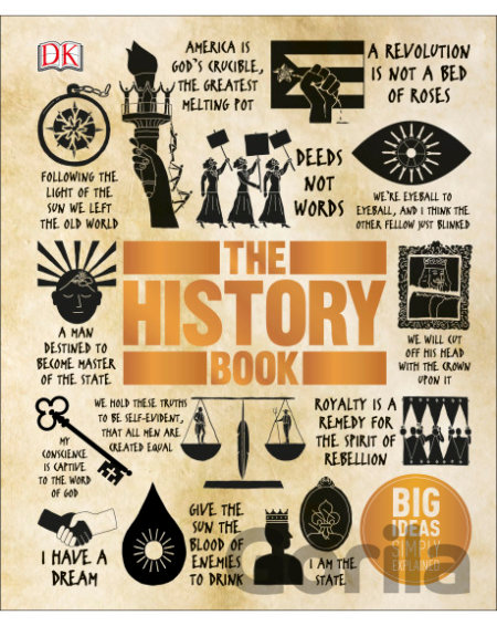 Kniha The History Book (DK) (Hardcover) -