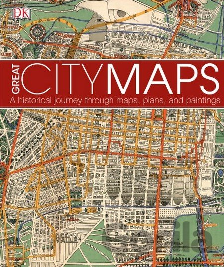 Kniha Great City Maps -