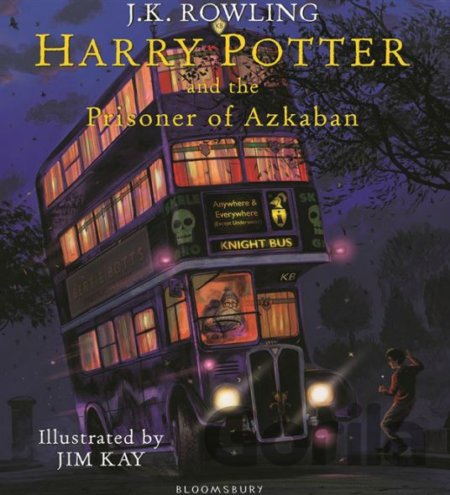 Kniha Harry Potter and the Prisoner of Azkaban - J.K. Rowling