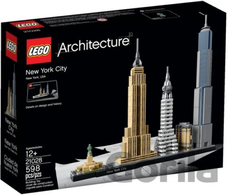 Hra LEGO Architecture 21028 New York City