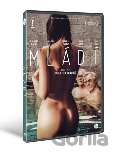 DVD Mládí (Youth) - Paolo Sorrentino - Paolo Sorrentino