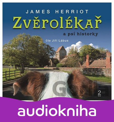Audiokniha Zvěrolékař a psí historky (James Herriot; Jiří Lábus) [CZ] [Médium CD] - James Herriot