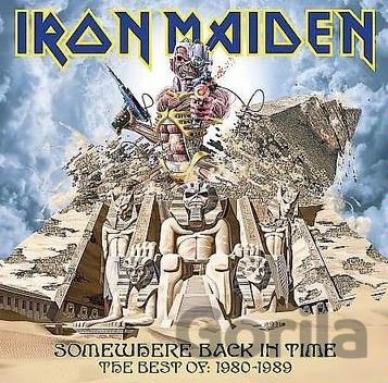 CD album IRON MAIDEN: SOMEWHERE BACK IN TIME THE BEST OF 1980
