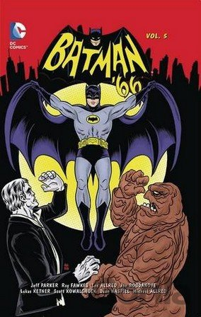 Kniha Batman '66 (Volume 5) - Jeff Parker