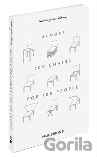 Kniha Almost 100 Chairs for 100 People - Isabella Gaetani Lobkowicz
