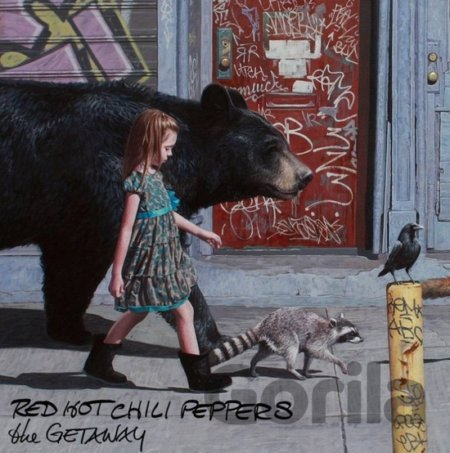 CD album RED HOT CHILI PEPPERS - THE GETAWAY