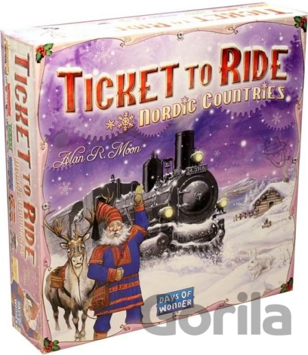 Hra Ticket to Ride: Nordic countries