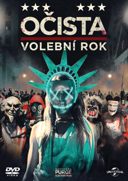 DVD Očista: Volební rok - James DeMonaco