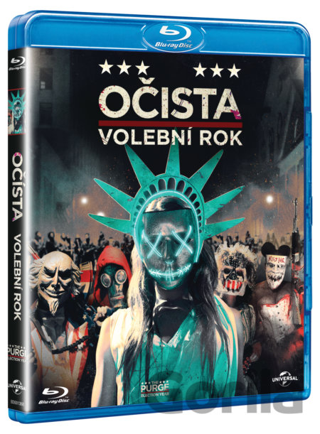 Blu-ray Očista: Volební rok (Blu-ray) - James DeMonaco