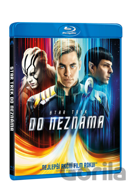 Blu-ray Star Trek: Do neznáma (2016 - Blu-ray) - Justin Lin