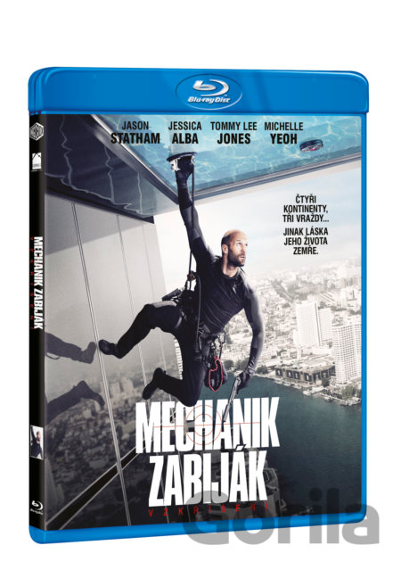 Blu-ray Mechanik zabiják: Vzkříšení (Mechanik 2) - Blu-ray - Dennis Gansel