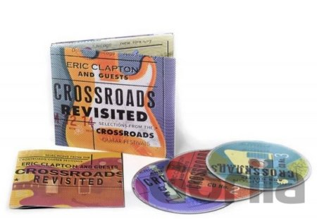 CD album CLAPTON ERIC - CROSSROADS REVISITED: SELECTIONS FROM THE CROSSROADS GUITAR FESTI