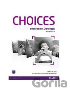Kniha Choices Intermediate Workbook & Audio CD Pack (Rod Fricker) -