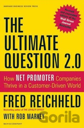 Kniha The Ultimate Question 2.0 - Fred Reichheld