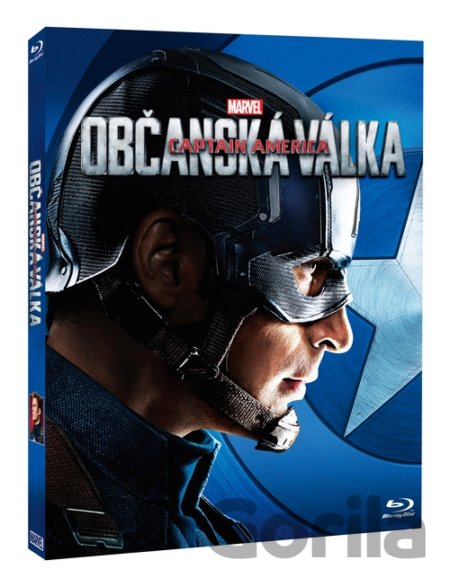 Blu-ray Captain America: Občanská válka - Captain America (Blu-ray) - Anthony Russo, Joe Russo