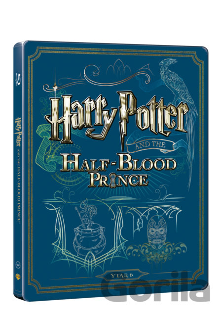 Steelbook Harry Potter a princ dvojí krve (Blu-ray + DVD bonus) - steelbook - David Yates