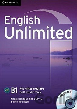 Kniha English Unlimited - Pre-intermediate - Self-study Pack - Maggie Baigent, Chris Cavey, Nick Robinson