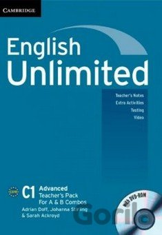 Kniha English Unlimited - Advanced - A and B Teacher's Pack - Adrian Doff, Johanna Stirling, Sarah Ackroyd