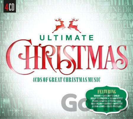 CD album V/A: ULTIMATE... CHRISTMAS -DIGI- (  4-CD)