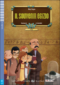 Kniha Il Souvenir egizio - Book + CD (A2) (Flagan Mary) - Mary Flagan