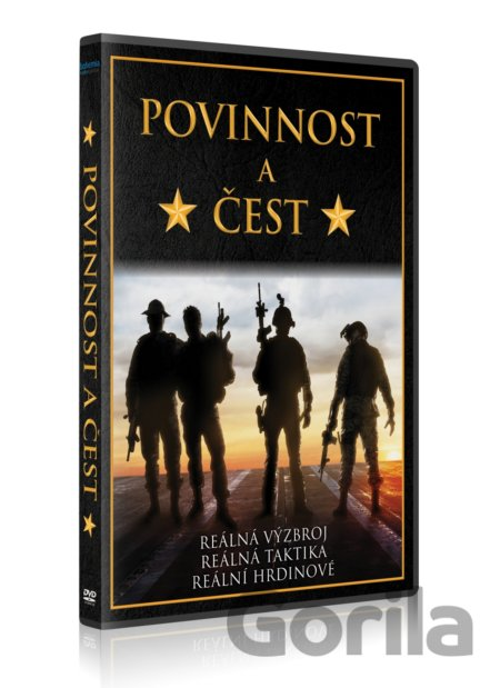 DVD Povinnost a čest (DVD) - Mike McCoy, Scott Waugh
