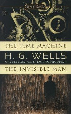 Kniha The Time Machine / The Invisible Man - H.G. Wells