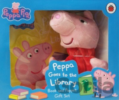 Kniha Peppa Goes to the Library -