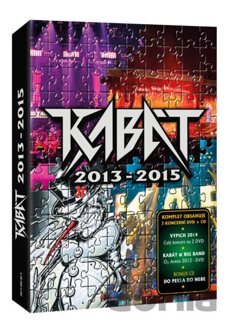 Hudobné CD  Kabát 2013-2015 (3 DVD+CD) za 17 9e3e2fa1fb0