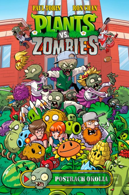Kniha Plants vs. Zombies: Postrach okolia - Paul Tobin, Ron Chan