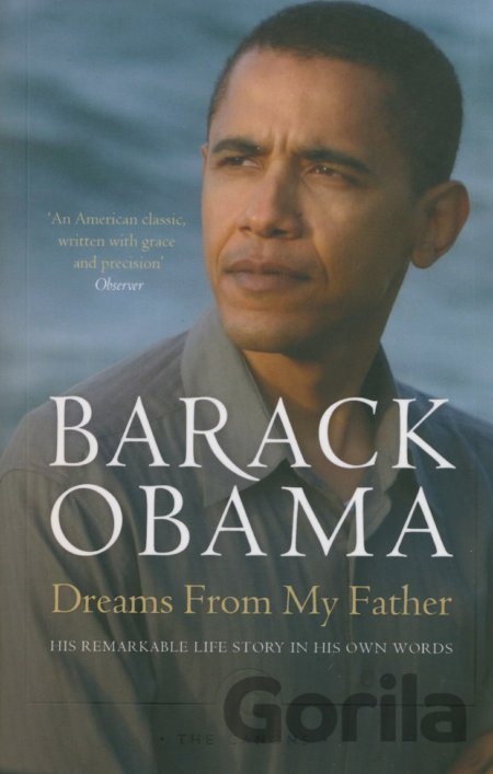 Kniha Dreams From My Father - Barack Obama