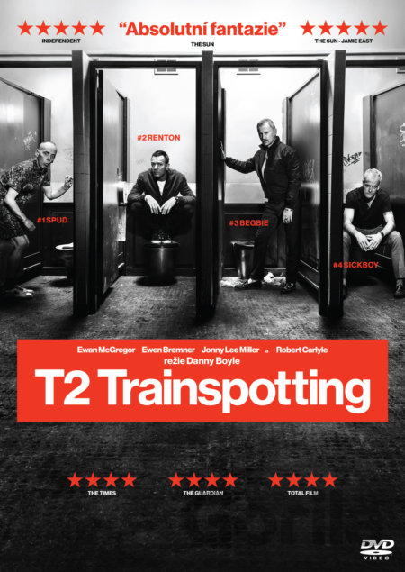 DVD T2 Trainspotting (2017) - Danny Boyle