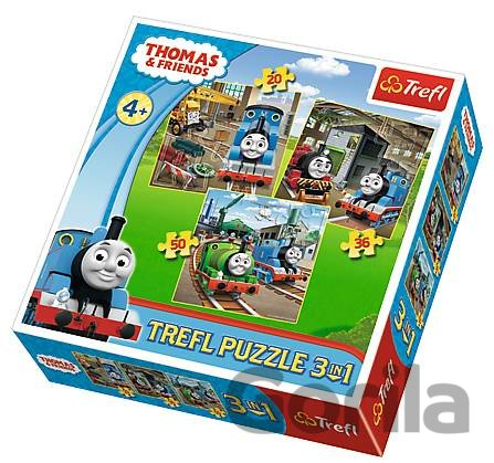 Puzzle Thomas goes into action
