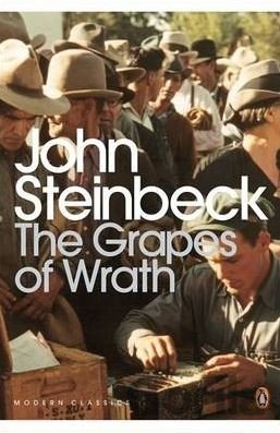 Kniha The Grapes of Wrath - John Steinbeck