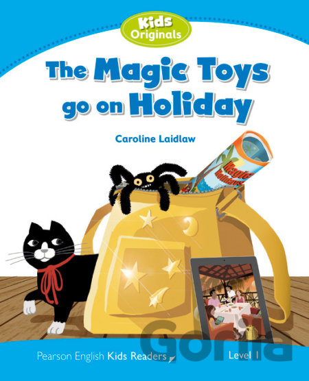 Kniha Level 1: Magic Toys on Holiday (Caroline Laidlaw) - Caroline Laidlaw