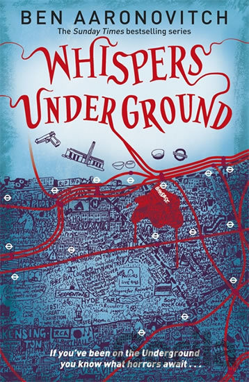 Kniha Whispers Under Ground (Rivers of London 3) (Ben Aaronovitch) - Ben Aaronovitch