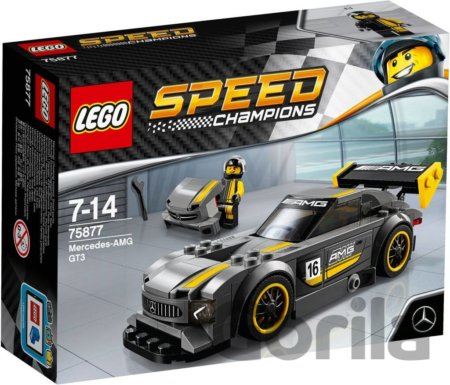 Hra LEGO Speed Champions 75877 Mercedes-AMG GT3