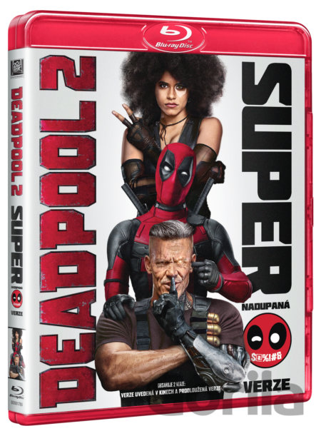 Blu-ray Deadpool 2 (Blu-ray) - David Leitch