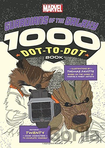 Kniha The 1000 Dot-to-Dot Book: Guardians of the Galaxy - Thomas Pavitte